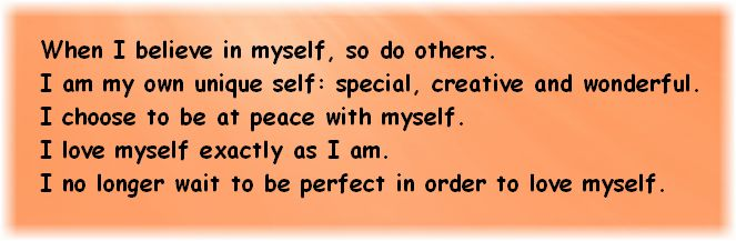 Positive Affirmations for Self-Esteem