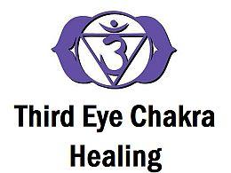 Third Eye Chakra Healing Symbol