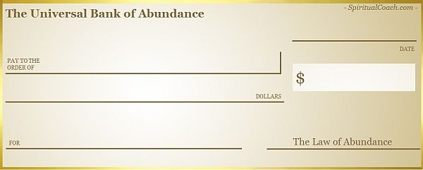 Example of an Abundance Check