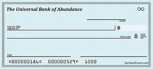 photo about Printable Abundance Check referred to as Abundance Exams - Make it possible for The Refreshing Moon Abundance Stream